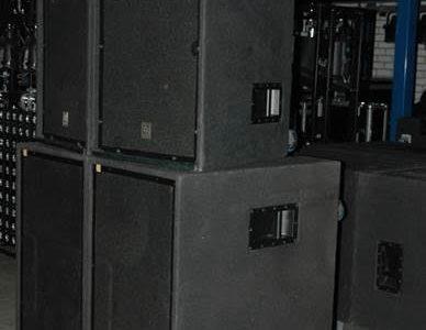 C Set geluid 750 personen