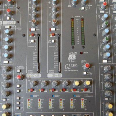 Allen & Heaht GL2200 audio mixer 2